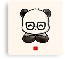 Geek Chic Panda Metal Print