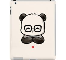 Geek Chic Panda iPad Case/Skin