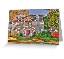 House -Queens NY Greeting Card