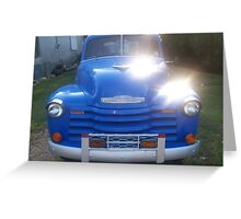 1953 Chevy 3100 Pickup Greeting Card