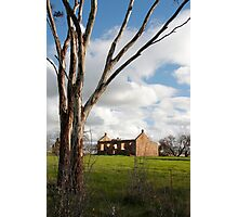 Australian Heritage Farmhouse Photographic Print