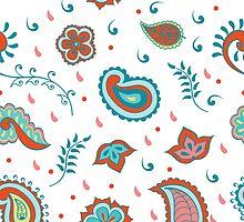 Hindu cucumber pattern by nadinadin