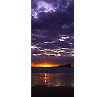 Purple Sunrise Photographic Print