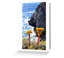 ocean flower Greeting Card