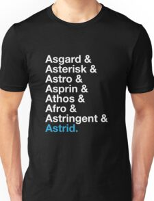 That's A Beautiful Name. Unisex T-Shirt