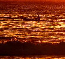 Dawn Paddler  by Janie. D