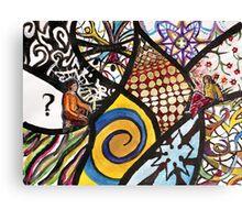 Choose World Canvas Print