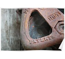 Rusty Pulley Poster