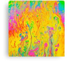 Multicolor Colorfull Sweet Painting Canvas Print