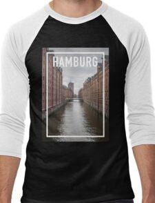 HAMBURG FRAME Men's Baseball ¾ T-Shirt