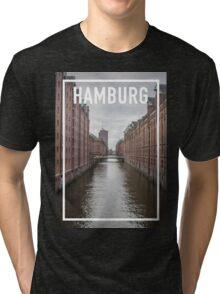 HAMBURG FRAME Tri-blend T-Shirt