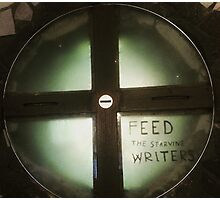 Feed The Starving Writers Photographic Print