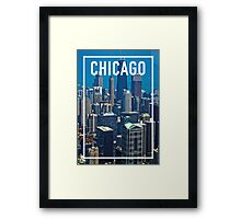 CHICAGO FRAME Framed Print