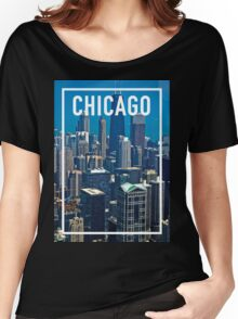 CHICAGO FRAME Women's Relaxed Fit T-Shirt