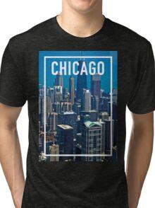 CHICAGO FRAME Tri-blend T-Shirt