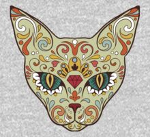 Calavera Cat Kids Clothes
