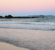 Dusk over Great Keppel Island by elsha