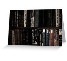 books Greeting Card