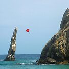 Lovers Beach, Cabo San Lucas, Mexico by Bernadette Claffey