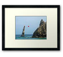 Lovers Beach, Cabo San Lucas, Mexico Framed Print