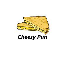 Cheesy pun is cheesy Photographic Print