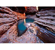 """Kermits Pool"" Karijini National Park, Western Australia Photographic Print"