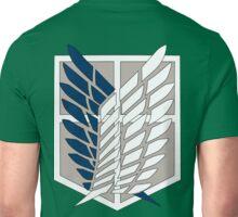 Attack on Titan Shingeki No Kyojin Scouting Legion Recon Corps Logo Cosplay Anime Green Jacket Hoodie T Shirt Unisex T-Shirt