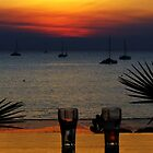 Sunset Dining, Darwin, NT by Julia Harwood