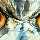 Owl's eye view by Carole Russell