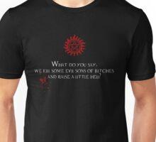 Raise Hell Unisex T-Shirt