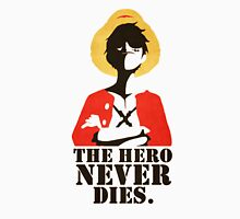 One Piece The Hero Never Dies Monkey D. Luffy Mugiwara Strawhats Pirates Anime Cosplay T Shirt Unisex T-Shirt