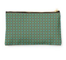 A repeating pattern using squares. Studio Pouch