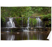 Waterfall, Lofthouse. Poster