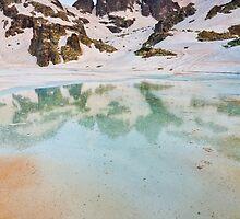 Frozen lake by fos4o