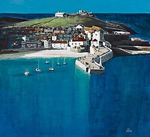 A sunny day in St Ives by Jenny Urquhart