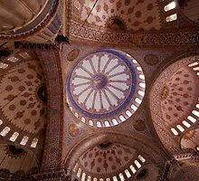 Sultan Ahmet Mosque - Istanbul by Peter Ede