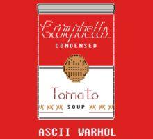 """Andy """"ASCII"""" Warhol by boltage69"""
