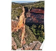 Jagged Edge  - The Rugged Blue Mountains Poster