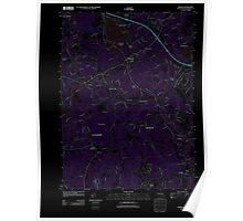 Massachusetts  USGS Historical Topo Map MA Norton 20120524 TM Inverted Poster