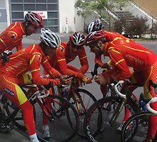 UCI World Cycling Championships 2010 Spanish Cyclists  by supercat35