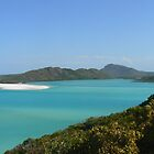 hill inlet whitehaven beach by kyle coffee