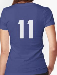 #11 (eleven) Womens Fitted T-Shirt