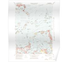 Massachusetts  USGS Historical Topo Map MA Hull 351031 1971 25000 Poster