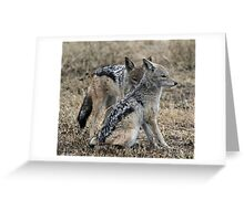 I can see you! Greeting Card