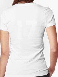 #17 (seventeen) Womens Fitted T-Shirt