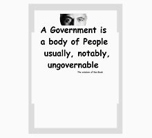 The Rev Book on Government Unisex T-Shirt