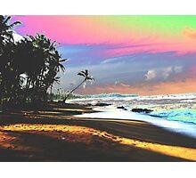 Tropical seascape Photographic Print