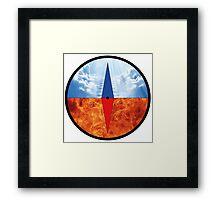 Moral Compass  Framed Print
