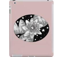 Midnight Ink Water Lily iPad Case/Skin