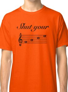 Funny Music Design Classic T-Shirt
